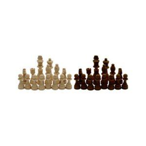 Ficha ajedrez madera