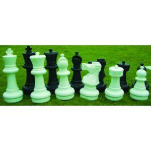 Juego de piezas ajedrez gigantes