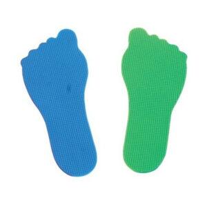 Marcas forma pies