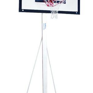 Juego de canastas baloncesto, aro macizo, red 6mm