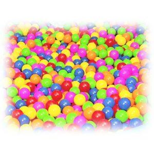 Set pelotas llenado piscina