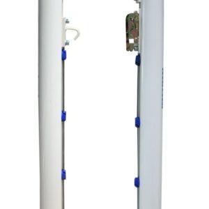 Juego postes padel aluminio Ø 90 mm fijos