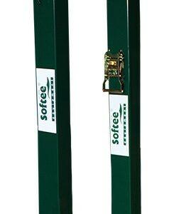 Juegos postes de padel fijos cuadrados 80×80 mm
