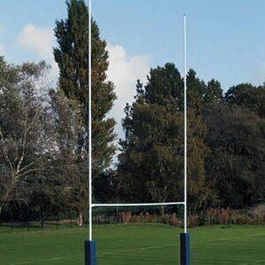 Juego porterías rugby aluminio