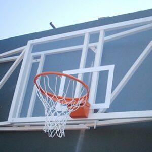 Juego canasta basket abatible a pared vuelo 1 metro