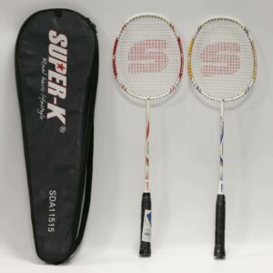 Oferta lote raqueta bádminton Set dúo Spike